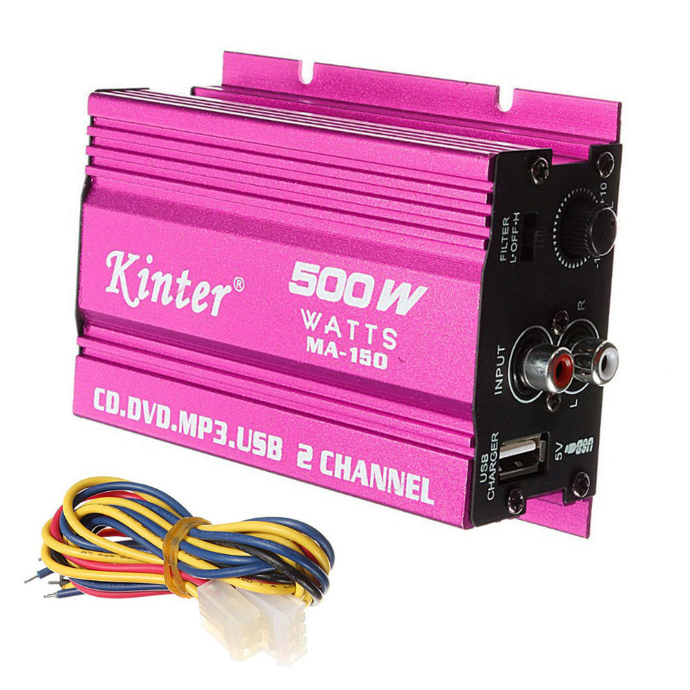 500w Ma 150 Dc9 15v 2 Ch Hi Fi Stereo Auto Car Audio Amplifier Amp Wiring Amplifiers For Two Image Is Loading