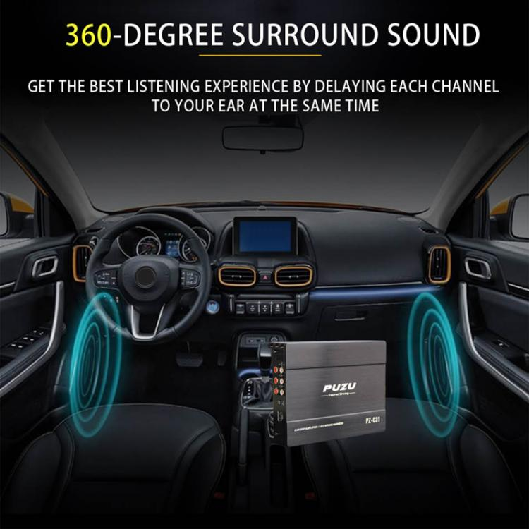 31Bands-4x150W-Car-Digital-Audio-Processor-DSP-Amplifier-Bluetooth-WIFI-Function thumbnail 9